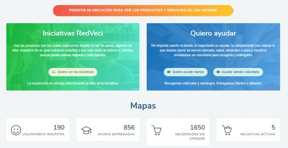 REDVECI, LaRed Nacional de Apoyo al Vecino
